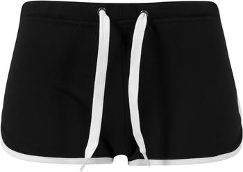 Urban Classics Ladies French Terry Hotpants black/white (TB363-50)