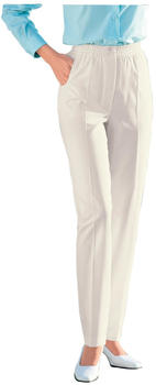 Witt Weiden Slip-on Pants with Elastic Waistband ivory (475125182)
