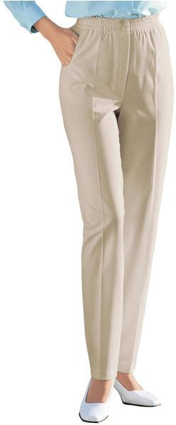Witt Weiden Slip-on Pants with Elastic Waistband beige (157211177)