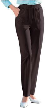 Witt Weiden Slip-on Pants with Elastic Waistband dark brown (455219188)