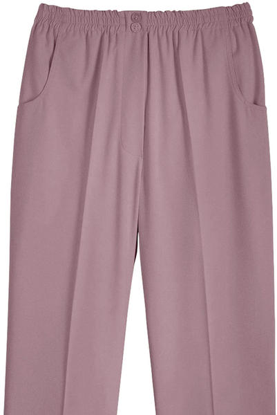 Witt Weiden Slip-on Pants with Elastic Waistband rose (721674178)