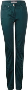 Cecil Tight Fit Pants Janet dark spruce green
