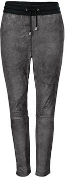 Heine Leather Joggpants grey