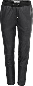 Heine Leather Joggpants black