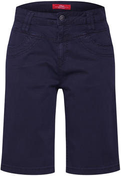 S.Oliver Smart Bermuda: Twill Trousers (05.906.74.3761) navy