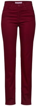 BRAX Carola Winter Dream Straight Pants cranberry