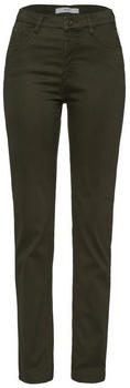 BRAX Carola Winter Dream Straight Pants khaki