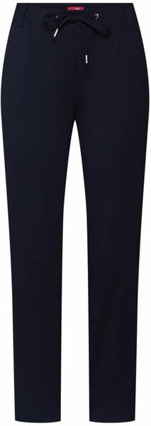 S.Oliver Regular Fit: Tapered leg-Pants in a sporty look (04.899.76.5376) black