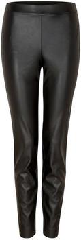 Comma Faux Leather Pants (81.911.76.2589) black