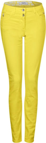 Cecil Casual Fit Colour Pants (B372835) fresh yellow