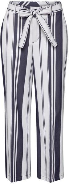 Hugo Boss Selenore Regular Fit Pants (50427095) navy/white stripes