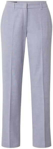 S.Oliver Slim Fit Straight Leg Businesshose (01.899.73.6104) blue panneau print