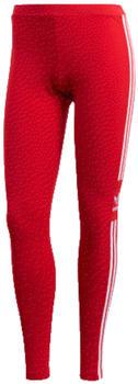 Adidas Trefoil Leggings lush red/white