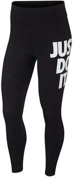 Nike Sportswear Leg-A-See JDI Leggings black/white