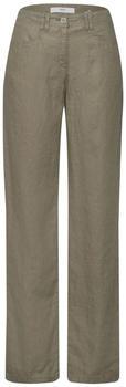 BRAX Farina Linen Pants (72-2207) khaki