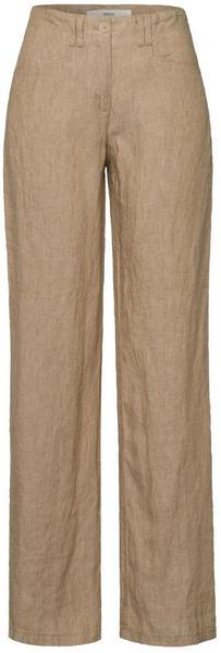 BRAX Farina Linen Pants (72-2207) toffee