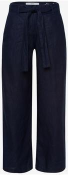 BRAX Maine S Linen Culottes navy
