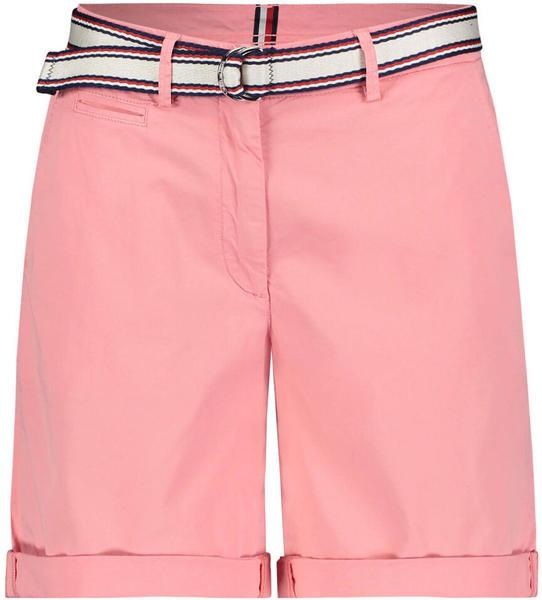 Tommy Hilfiger Signature Tape Belt Bermuda Shorts (WW0WW27634) pink grapefruit