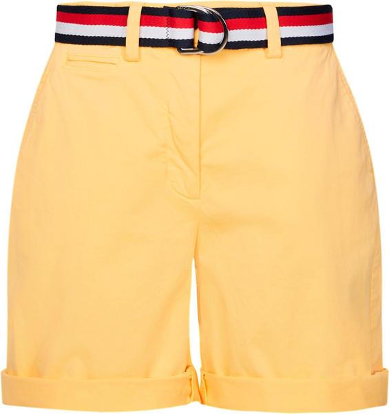 Tommy Hilfiger Signature Tape Belt Bermuda Shorts (WW0WW27634) sun ray