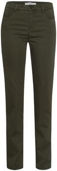 BRAX Winterdream Style Mary Five Pocket Pants (75-1707) dark olive