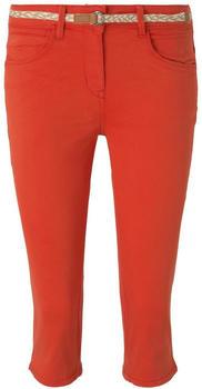 Tom Tailor Capri Pants (1019426) strong flame orange