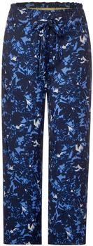 Street One Hose Mit Paperbag-bund (A373065) deep blue