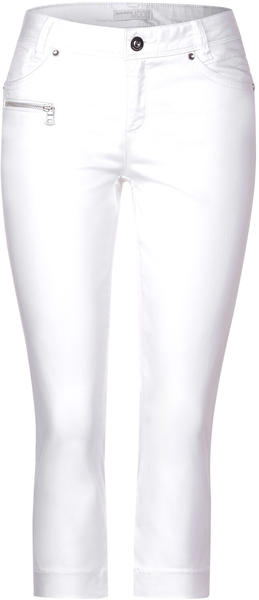 Street One Hose Mit Zipper-detail (A373095) white