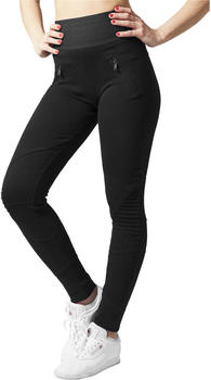 Urban Classics Ladies Interlock High Waist Leggings (TB1053-00017-0046) blk/blk