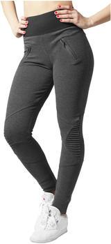 Urban Classics Ladies Interlock High Waist Leggings (TB1053-00314-0042) cha/blk