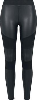 Urban Classics Faux Leather Tights (TB3246) black