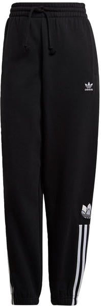 Adidas LOUNGEWEAR Adicolor 3D Trefoil Fleece Hose black