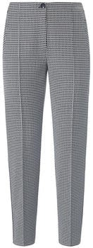 Gerry Weber Checked Pants (1_92409-38113) blue/ivory check