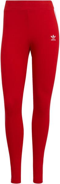 Adidas Adicolor Classics 3-Stripes Leggings scarlet