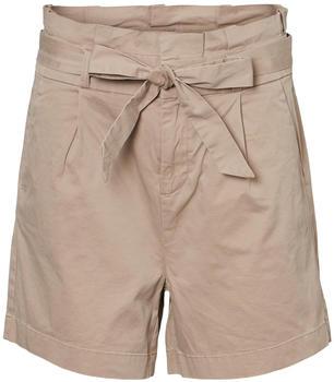 Vero Moda Vmeva Hr Paperbag Cot Shorts Noos Ga (10225993) silver mink