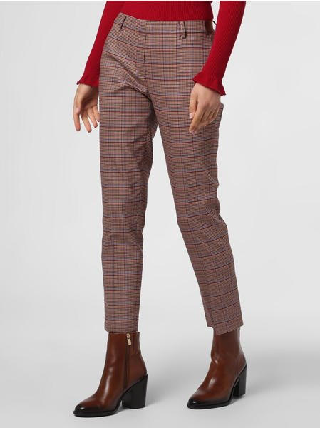 Marc O'Polo TORUP trousers in a soft twill fabric brown