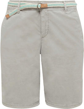 Esprit Chino shorts with a belt (990EE1C301) light grey