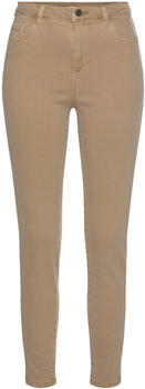 Esprit Skinny high rise Trousers with shaping function (990EE1B306) camel