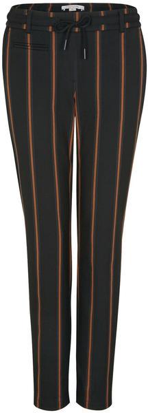 Comma Gestreifte Hose im Jogstyle (80.899.73.1132) brown