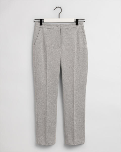 GANT Tech Prep™ Jersey Piqué Zigarettenhose (4150164-93) grey melange