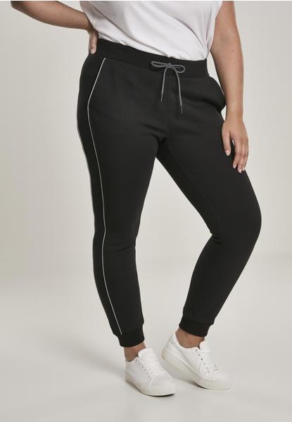 Urban Classics Ladies Reflective Sweatpants Black (TB3023-00007-0037) schwarz