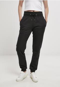 Urban Classics Ladies Organic High Waist Sweat Pants Black (TB4086-00007-0037) schwarz