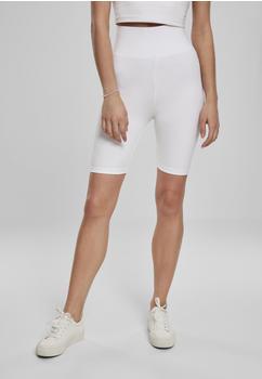 Urban Classics Ladies High Waist Cycle Shorts (TB2632-00220-0042) white