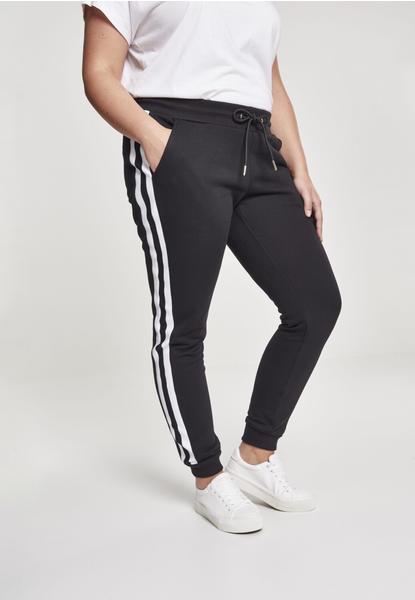 Urban Classics Ladies College Contrast Sweatpants (TB2453-01293-0037) black/white/black