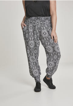 Urban Classics Ladies Sarong Pants Black (TB2674-01060-0037) bandanan