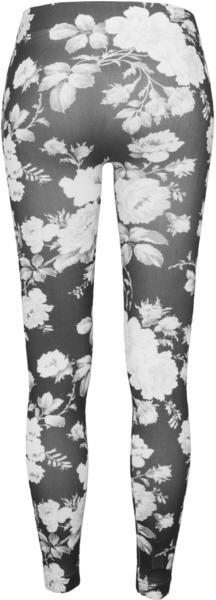 Urban Classics Ladies Flower Leggings Wht/floral (TB949-00571-0037) white/floral