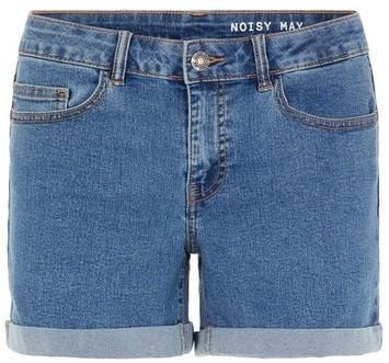 Noisy May NMBE LUCY NR DEN FOLD SHORTS GU814 S* (27001883) medium blue denim