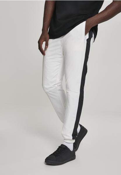 Urban Classics Side Striped Crinkle Track Pants Blk/wht (TB2744-00224-0042) white/black