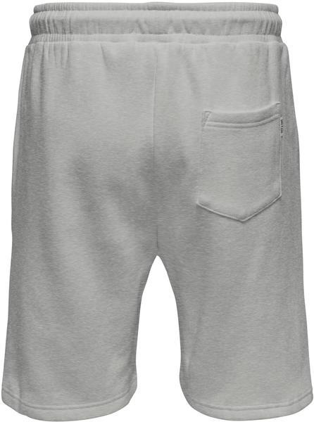 Only & Sons Onsceres Life Sweat Shorts Noos (22019490) light grey melange