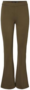 Vero Moda Vmkamma Nw Flared Jersey Pant Color (10225951) ivy green