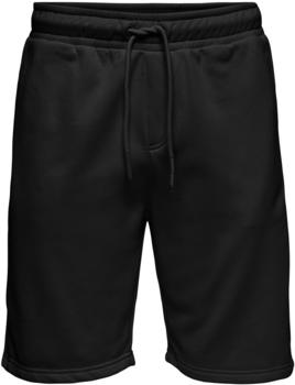 Only & Sons Onsceres Life Sweat Shorts Noos (22019490) black